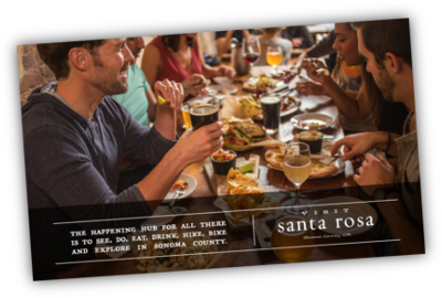 Visit Santa Rosa Visitor's Guide Cover'